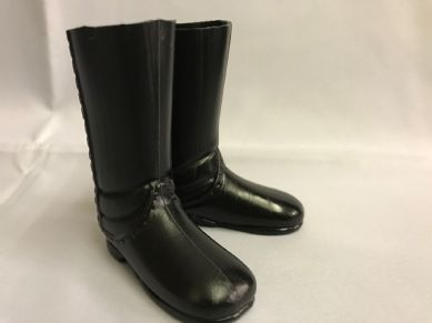 ELITE BRIGADE - BLACK JACKBOOTS to fit Action Man/Gi Joe etc